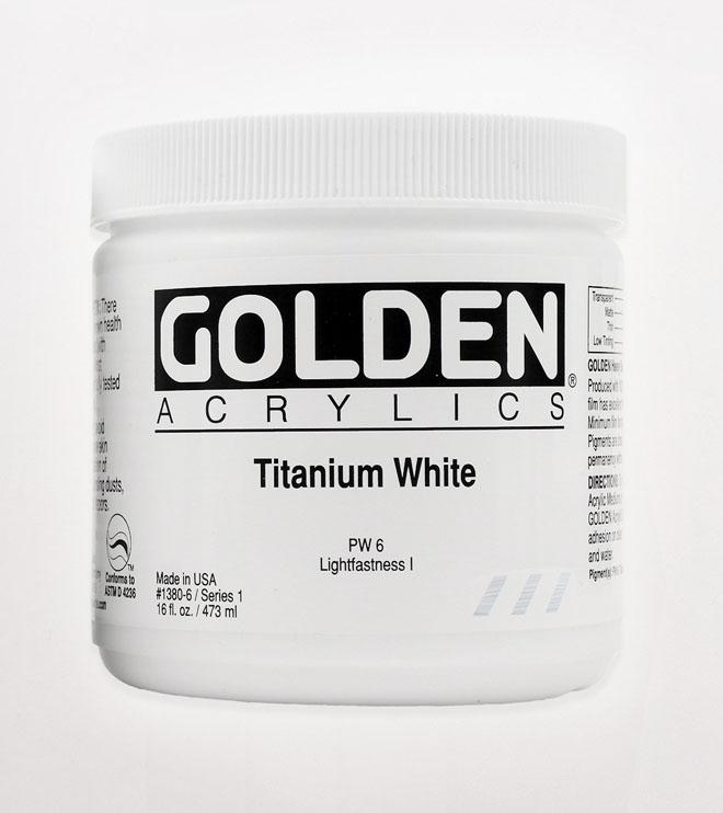 GOLDEN Titanium White
