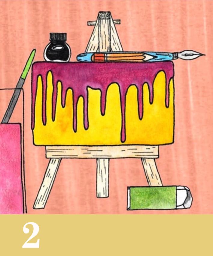 gumclub illustratie challenge_ bakken_doriansje