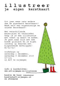 workshop illustreer je eigen kerstkaart