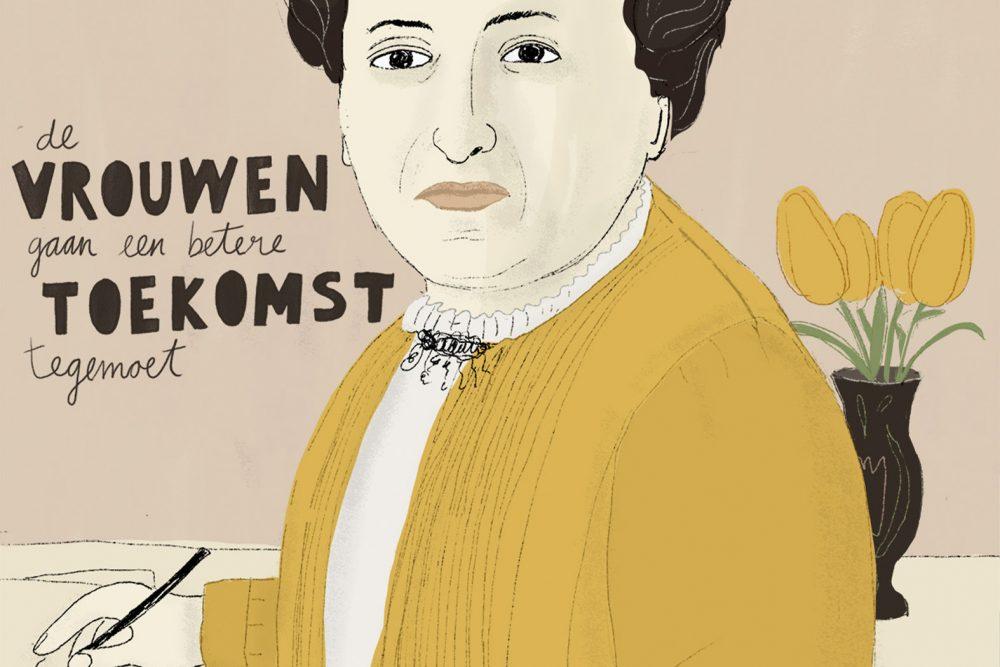 Aletta Jacobs door Esther Mols