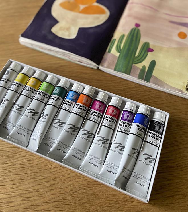 NICKER designer colour