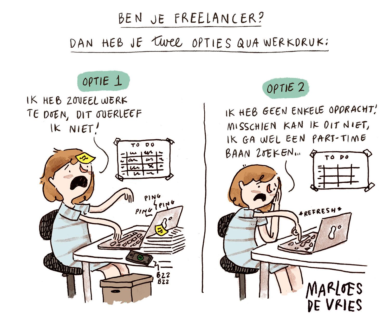 Marloes De Vries training