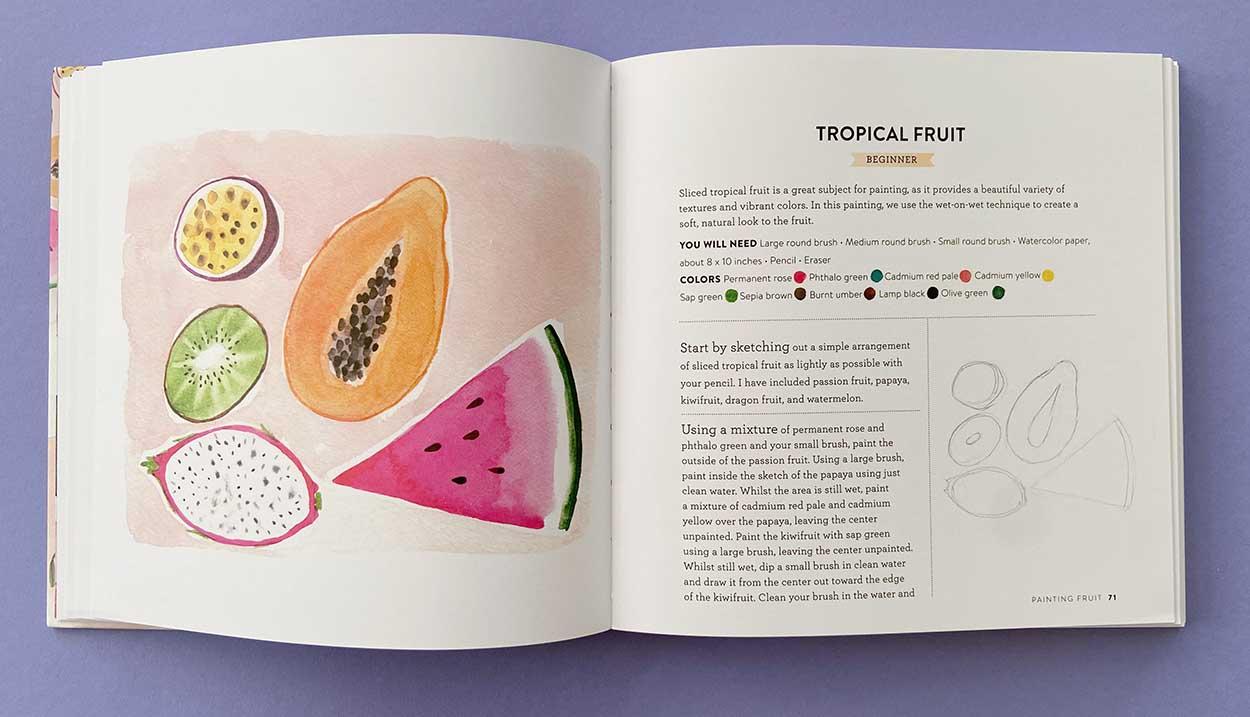 beginner tropical fruit emma block