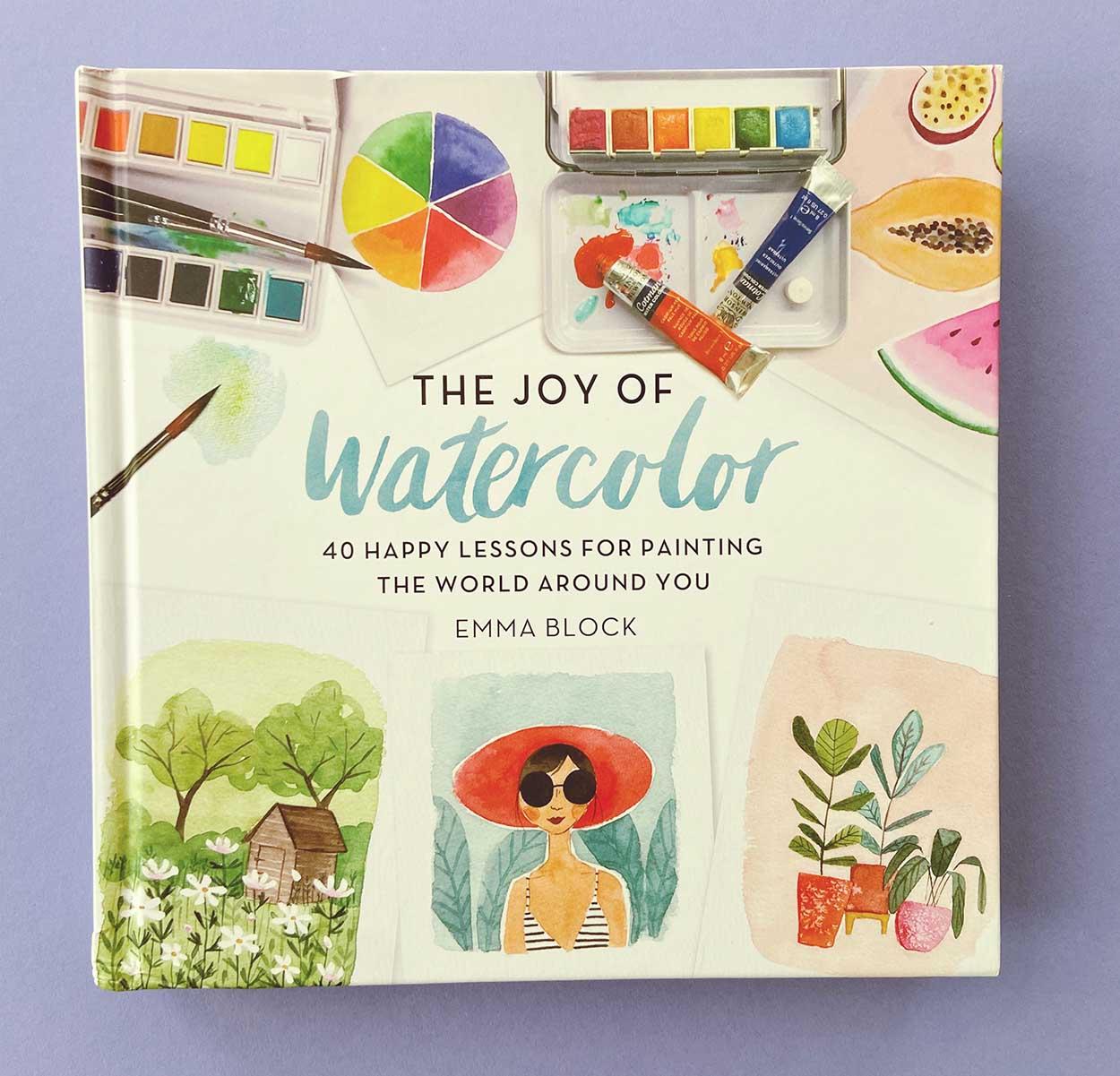 voorkant boek watercolor emma block