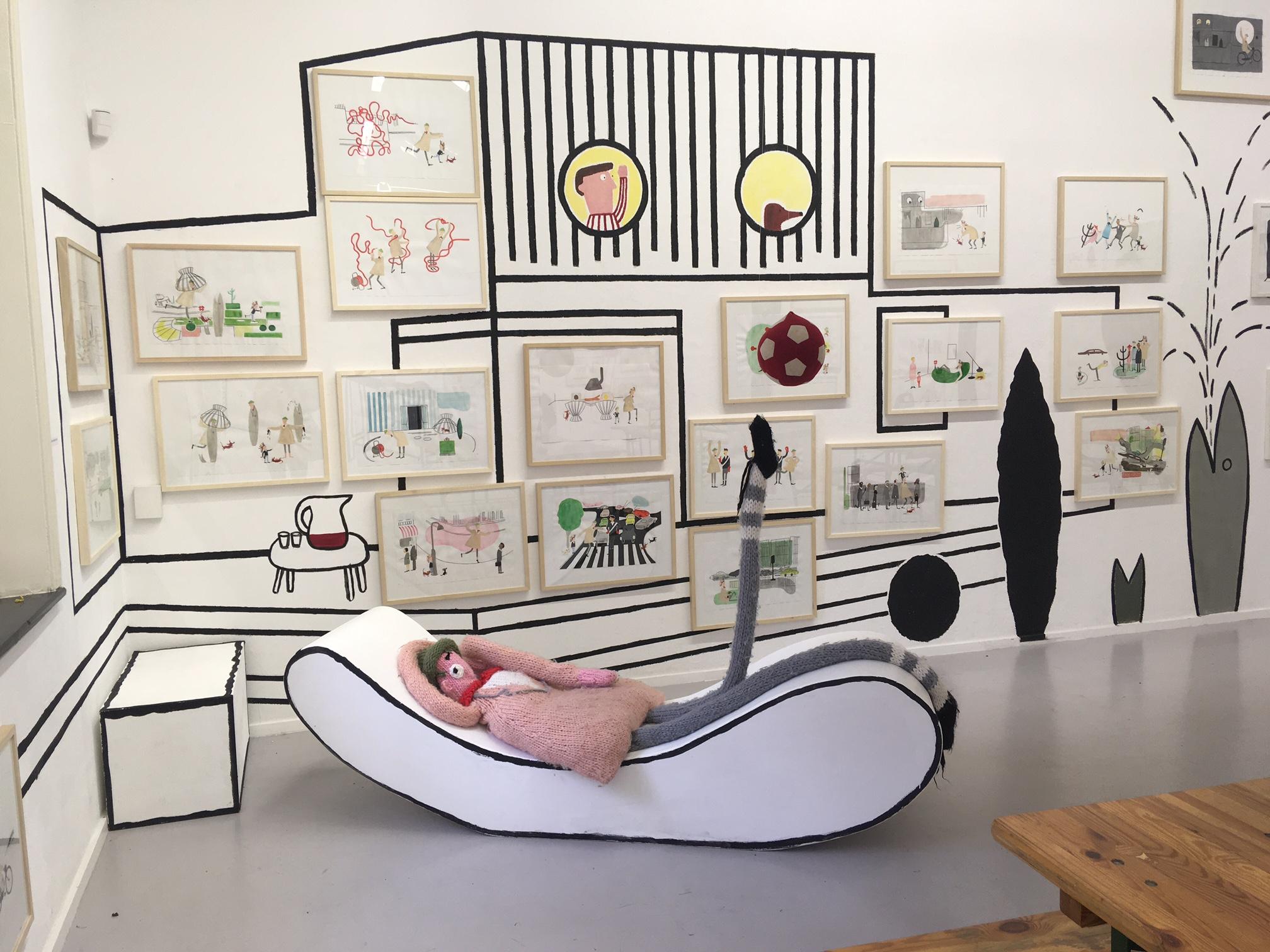 Yvonne Yagtenberg WG kunst